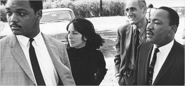 Joan Baez, Martin Luther King, Ira Sandperl, Jesse Jackson